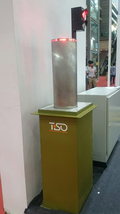 Anti-ram bollard, China Public Security Expo 2015